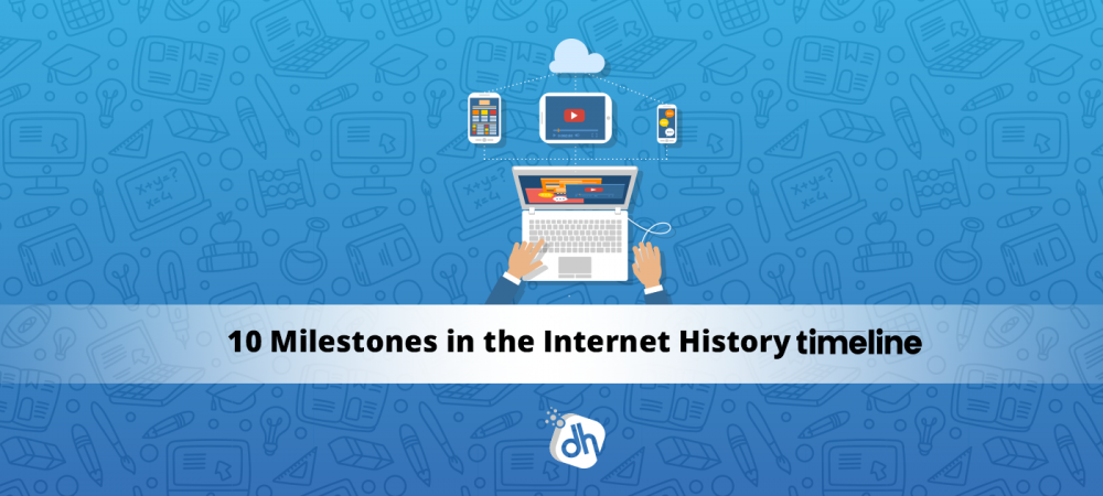 10 milestone event of internet history timeline
